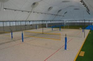 Realizzazione campi beach tennis mantova