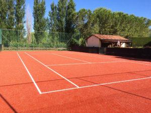 Campo da tennis in sintetico Brescia